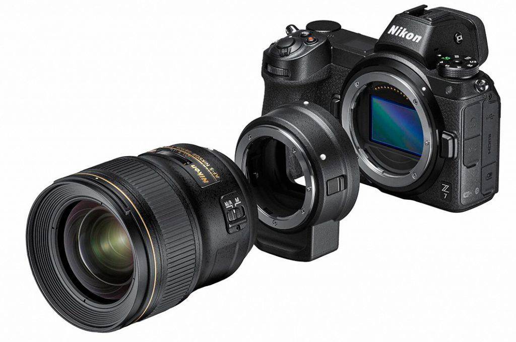 Nikon Z7 Ouvert